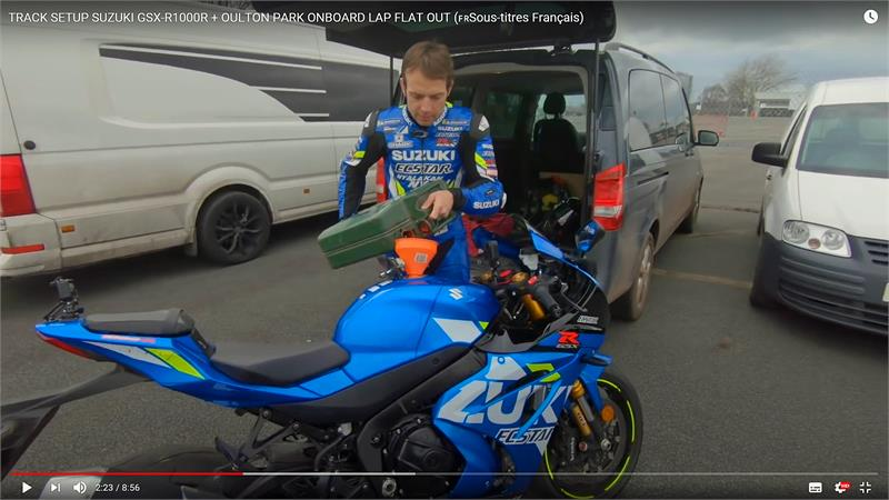 Sylvain Guintoli GSX-R1000R track set-up-2