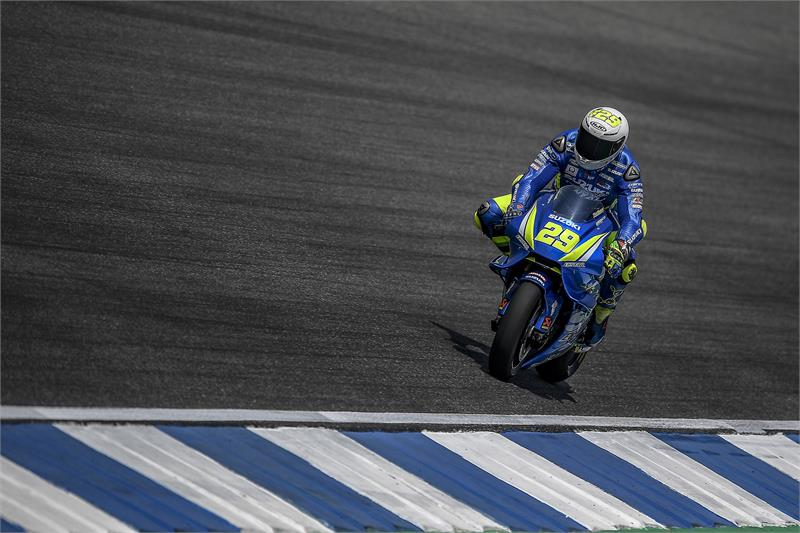 Buriram Test - Alex Rins-1
