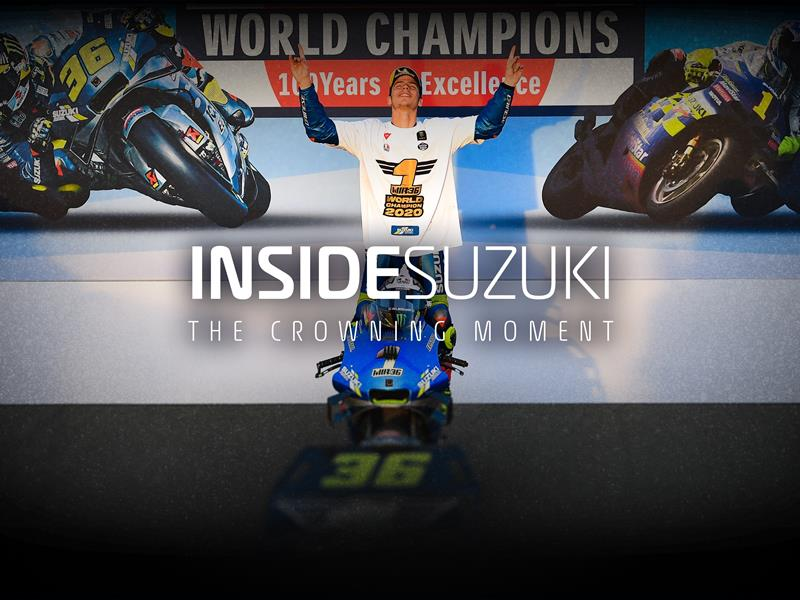 INSIDE SUZUKI, THE CROWNING MOMENT TEASER VIDEO