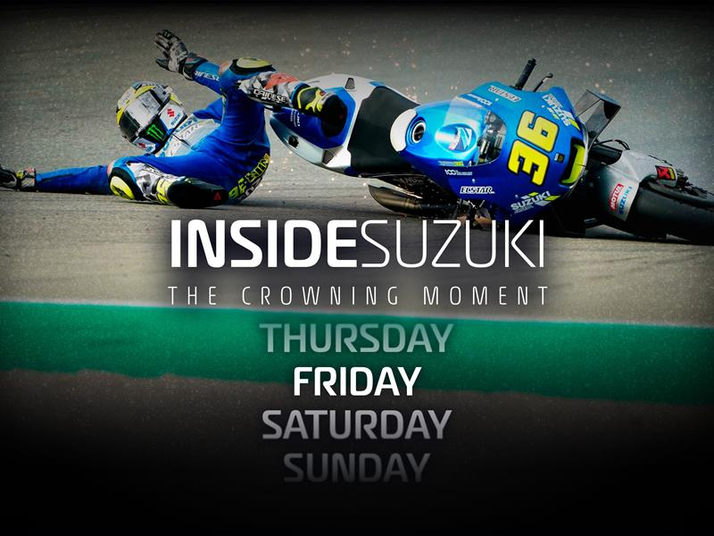 INSIDE SUZUKI, THE CROWNING MOMENT - EPISODE 2 VIDEO