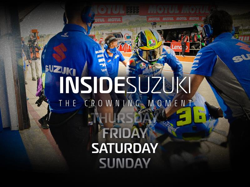 INSIDE SUZUKI, THE CROWNING MOMENT - EPISODE 3 VIDEO