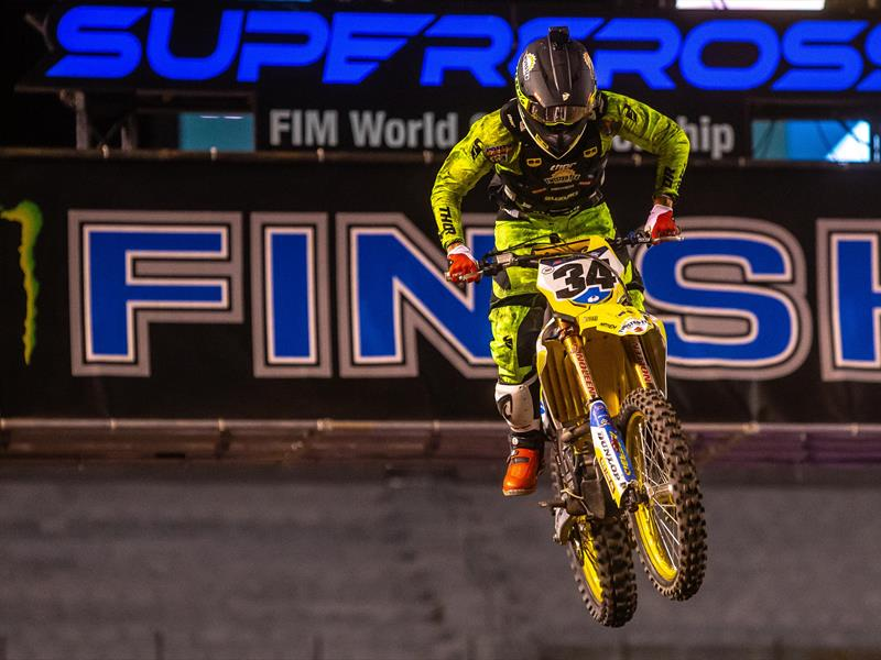 ANSTIE & SUZUKI POST BEST RESULT AT UTAH SX FINALE