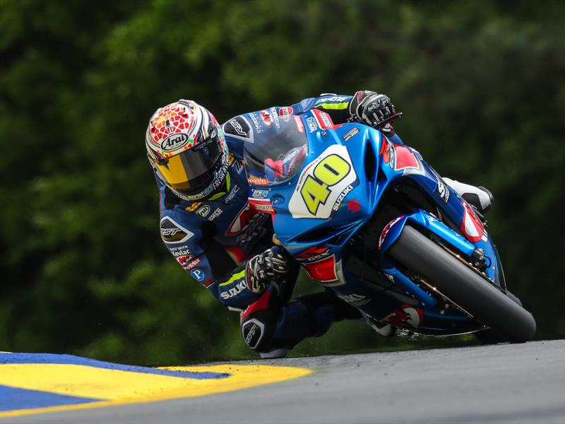DOUBLE WIN FOR SUZUKI AT MOTOAMERICA SBK