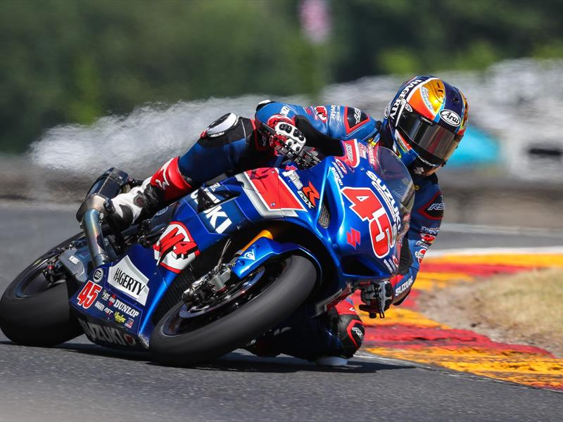 DOUBLE PODIUM FOR PETERSEN AT ROAD AMERICA SBK