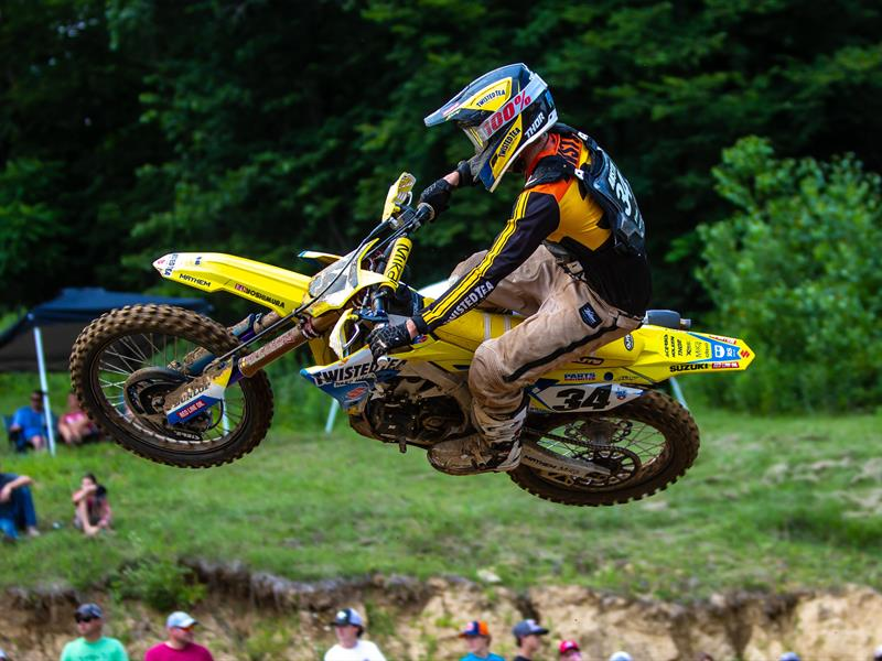 ANSTIE SCORES BEST FINISH AT MILLVILE AMA MX ON RM-Z450